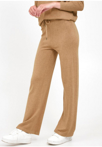 b.young Casual Knit Sweatpants, Beige