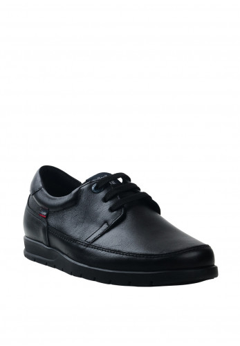 CallagHan Woda Leather Shoe, Black