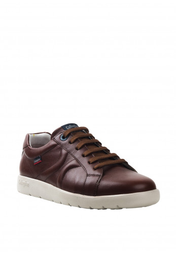 CallagHan Amanci Leather Shoe, Brown