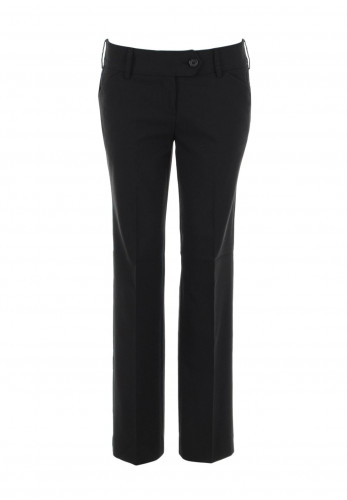 Lily Girls School Trousers, Black