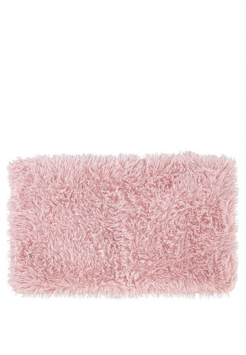 Catherine Lansfield Cuddly Bath Mat, Pink