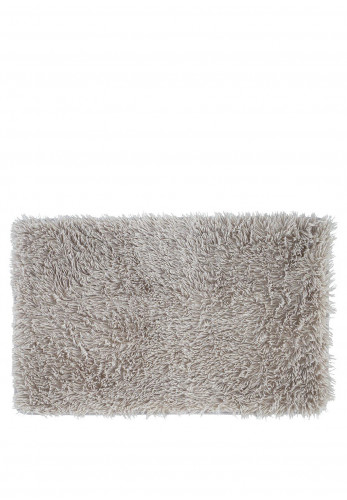 Catherine Lansfield Cuddly Bath Mat, Silver