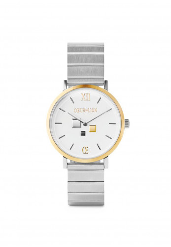 Coeur De Lion Bicolor Stainless Steel Watch, Silver & Gold