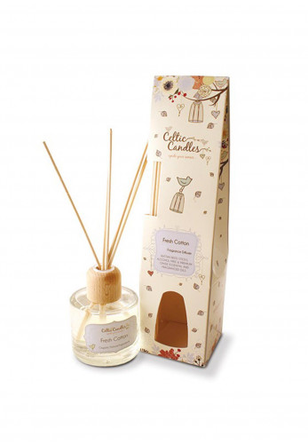Celtic Candles Fresh Cotton Fragrance Reed Diffuser