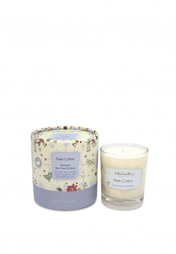 Celtic Candles Fresh Cotton Aromapot Jar, 200g