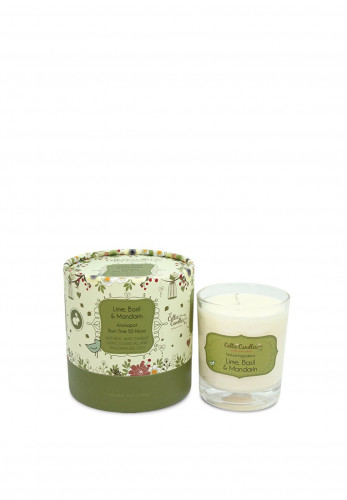 Celtic Candles Lime Basil & Mandarin Aromapot Jar, 200g