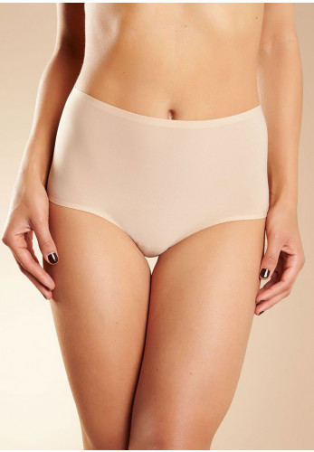 Chantelle One Size Soft Stretch High Waist Brief, Nude