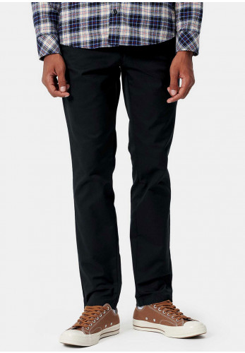 Carhartt Sid Slim Tapered Trousers, Black