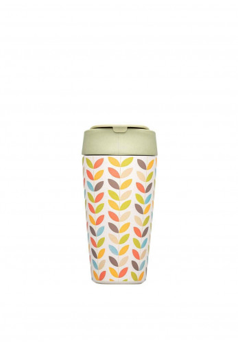 Chic Mic Bioloco Deluxe Cup 420ml, Bright Leaves
