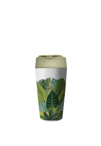 Chic Mic Bioloco Deluxe Cup 420ml, Exotic leaves