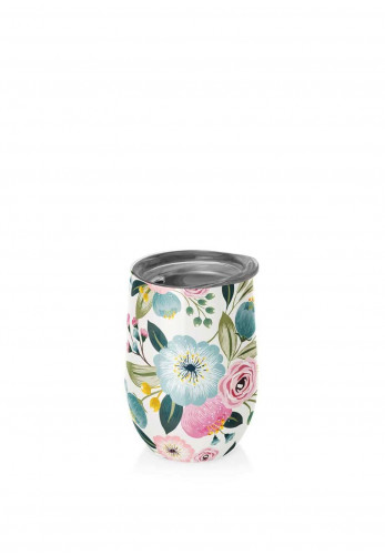 Chic Mic Thermo Cup 420ml, Pastel Flower