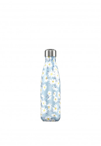 Chilly's Floral Edition 500ml Reusable Bottle, Daisy