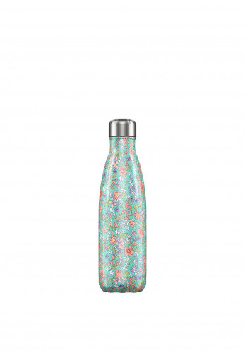 Chilly's Floral Edition 500ml Reusable Bottle, Peony