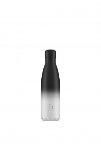 Chilly's Gradient Edition 500ml Reusable Bottle, Monochrome