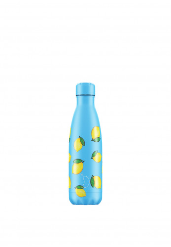Chilly's Icon Edition 500ml Reusable Bottle, Lemon