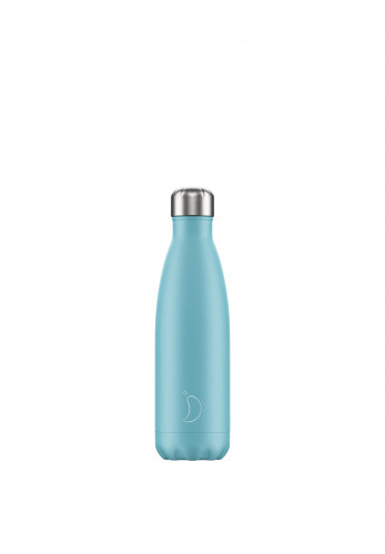 Chilly's Pastel Edition 500ml Reusable Bottle, Blue