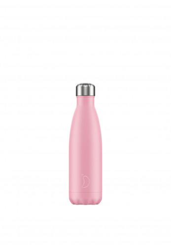 Chilly's Pastel Edition 500ml Reusable Bottle, Pink
