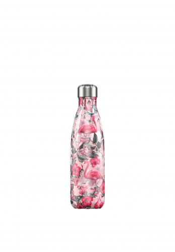 Chilly's Tropical Edition 500ml Reusable Bottle, Flamingo