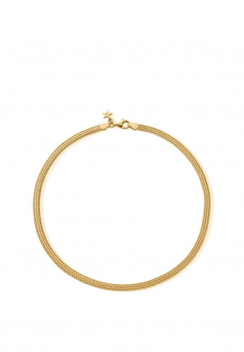 Chlobo The Tide Woven Chain Necklace, Gold