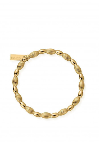 ChloBo Double Rice Layering Bracelet, Gold