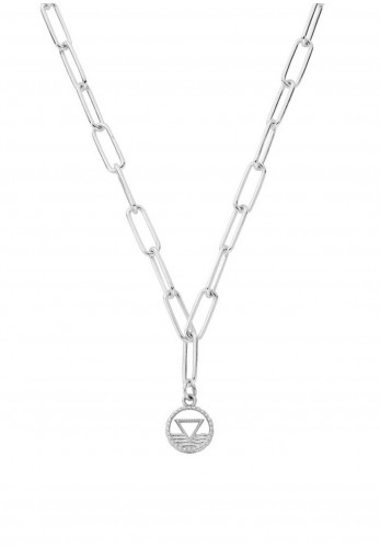 Chlobo Link Chain Water Necklace, Silver
