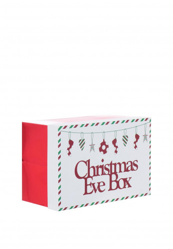 Christmas Eve box, Green and red