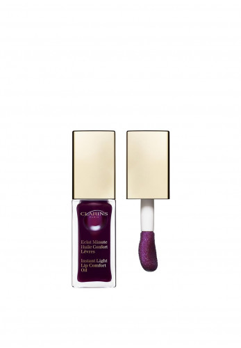 Clarins Instant Light Lip Comfort Oil, Blackberry