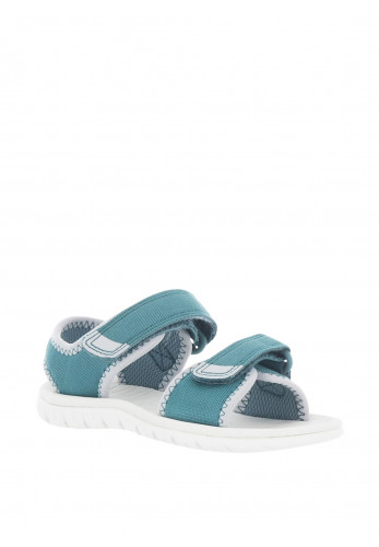 Clarks Toddler Surfing Tide Velcro Sandals, Teal