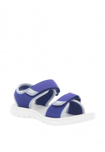 Clarks Kids Surfing Tide Velcro Sandals, Blue