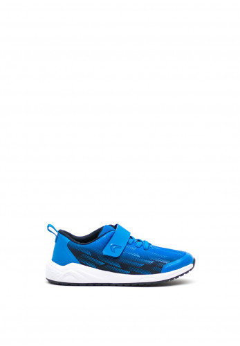 Clarks Boys Aeon Pace Velcro Strap Trainers, Blue