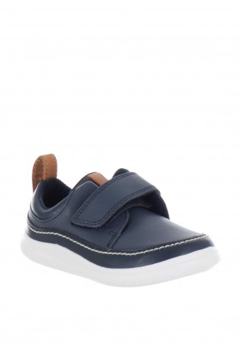 Clarks Baby Boys Cloud Ember Velcro Shoes, Navy