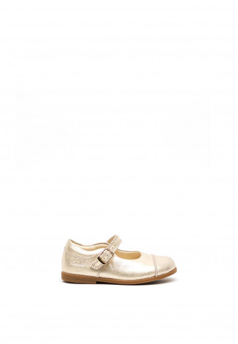 Clarks Baby Girls Drew Sun Leather Shoes, Gold