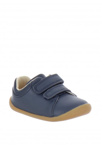 Clarks Baby Boys Roamer Craft Pre Walking Shoes, Navy