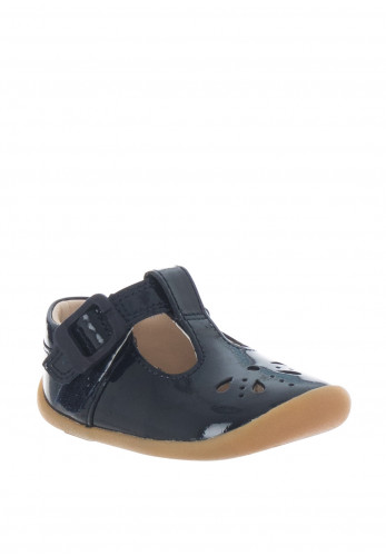 Clarks Baby Girls Roam Star Pre Walker Shoes, Navy
