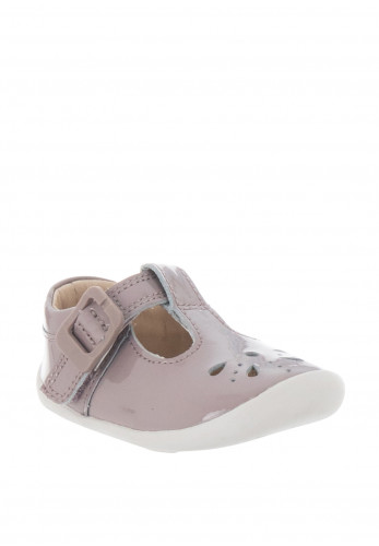 Clarks Baby Girls Roam Star Pre Walker Shoes, Mauve