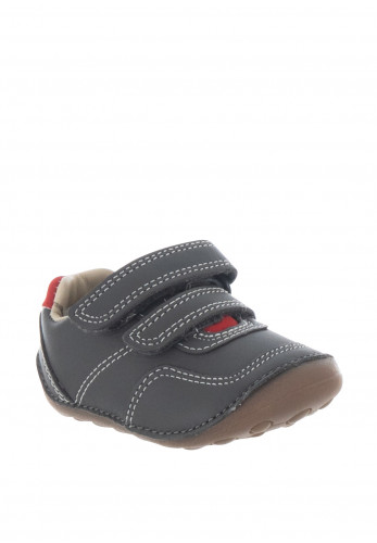 Clarks Baby Boys Tiny Dusk Pre Walker Shoes, Grey
