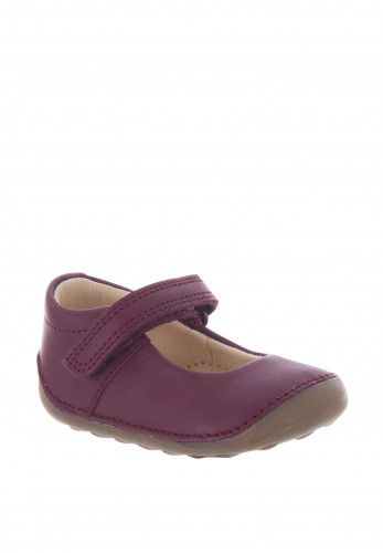 Clarks Baby Girls Tiny Mist Pre Walker Shoes, Plum