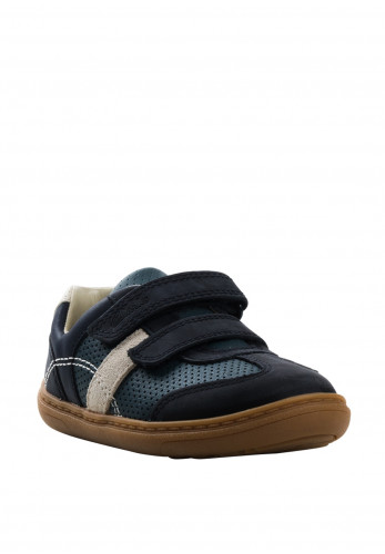 Clarks Baby Boys Flash Metra Velcro Trainers, Navy