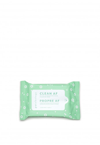 Patchology Clean Af Refreshing Facial Cleansing Wipes