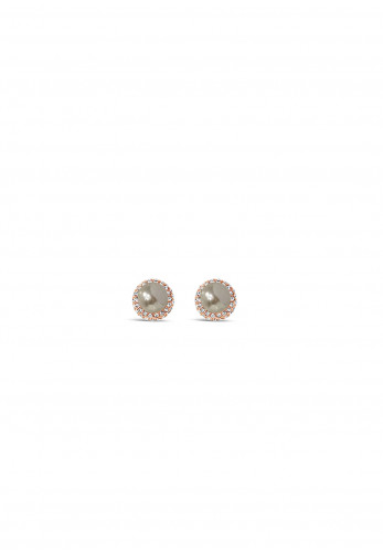 Absolute Pearl Clip-On Earrings, Rose Gold