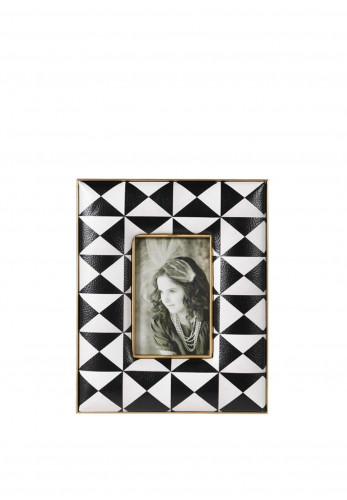 Coach House Monochrome Small Photo Frame