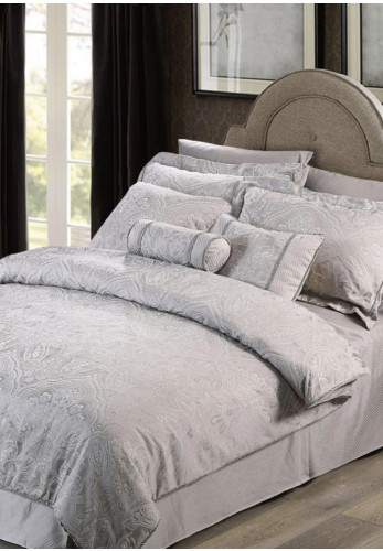 Cocoon Tolstoy Single Pillowcase, Grey