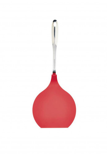 Colourworks Stainless Steel and Nylon Headed Pancake Turner, Red