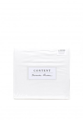 Terence Conran Content Oxford Pillowcase, White