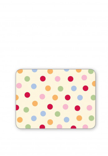 Cooksmart Spots 4 Pack Table Mats, Multi