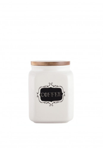 Creative Tops Stir It Up Ceramic Coffee Canister, Cream
