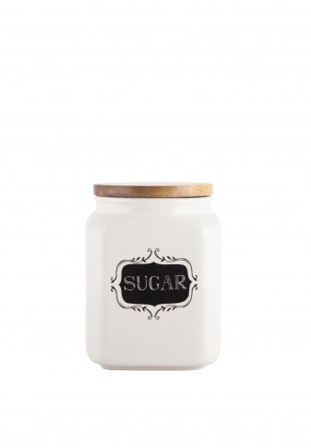 Creative Tops Stir It Up Ceramic Sugar Canister, Cream