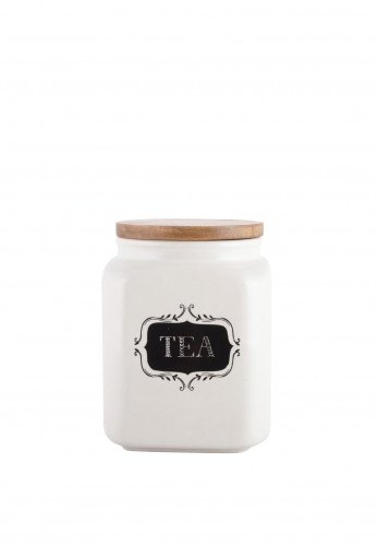 Creative Tops Stir It Up Ceramic Tea Canister, Cream