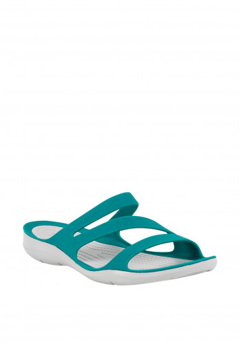 Crocs Swiftwater Comfort Sandals, Jade