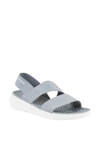Crocs Lite Ride Stretch Sandals, Grey
